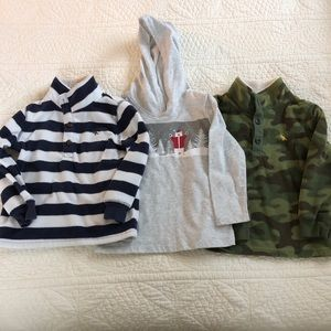 Bundle of 3T Pullovers